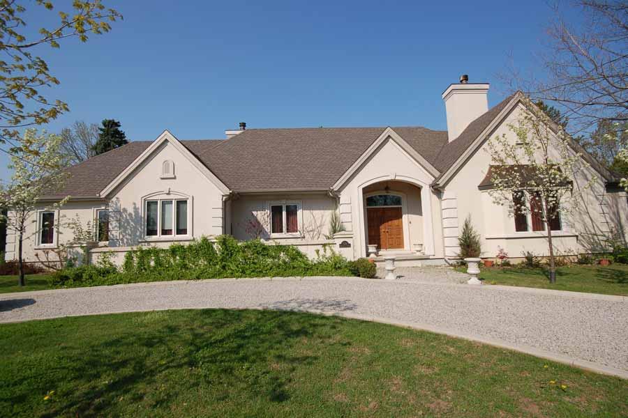 18 decorative stucco home designs home plans blueprints 45934. Black Bedroom Furniture Sets. Home Design Ideas